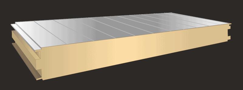 Pir isolering - sandwich plade - Badelement let badekabine